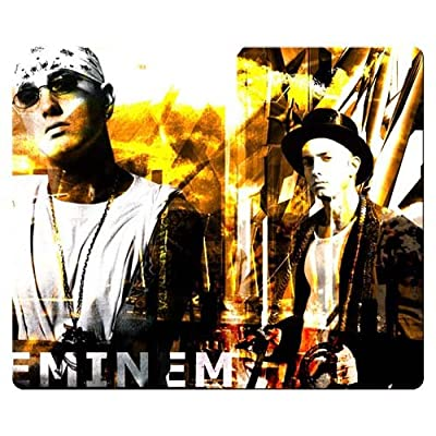 26x21cm 10x8inch personal gaming mousepads precise cloth & Environmental rubber Rough high performance Eminem