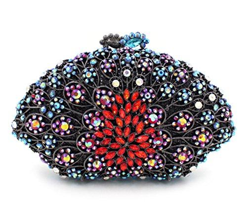 Flada, Poschette giorno donna multicolore Multicolour medium