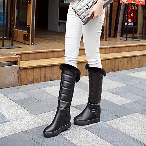 GaoXiao_ GaoXiao_ GaoXiao_ Winterschuhe für Damen hohe Stiefel 05ddfb