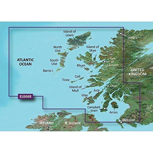 Garmin Bluechart G2 HXEU006R Scotland West Coast Micro SD - Detailed Coverage by Sirimaya