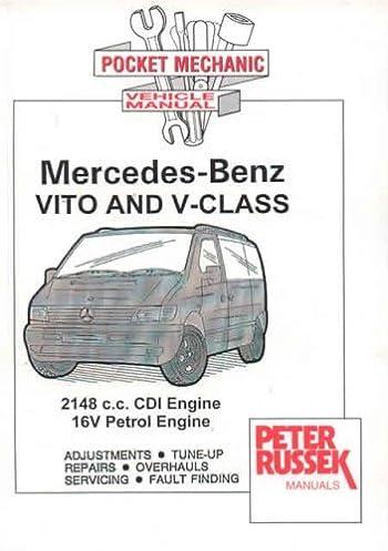 workshop service manual mercedes benz vito and v class cdi models rh amazon com Mercedes V220 Interiro Mercedes- Benz S65 AMG