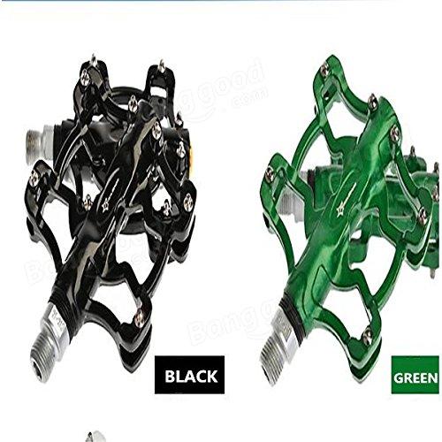 Bazaar Rockbros pédales de vélo de montagne à double palier pédales en alliage d'aluminium
