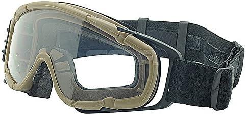 Ventilador refrigerador gafas si-bal/ístico versi/ón gafas DE protecci/ón para bicicleta Ciclismo conduciendo t/áctico Paintball Airsoft Snowboard y esqu/í 3 colores DE negro, DE, rosa