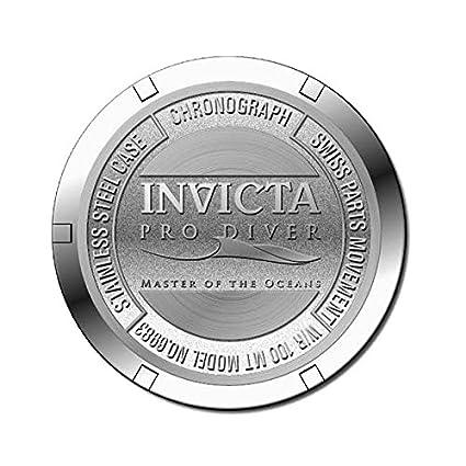 b2d75a78e66 Amazon.com  Invicta Men s 6983 Pro Diver Collection Chronograph Blue Dial  Black Polyurethane Watch  Invicta  Watches