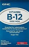 GNC Vitamin B-12 1000 MCG - Cherry 120 Vegetarian Lozenges
