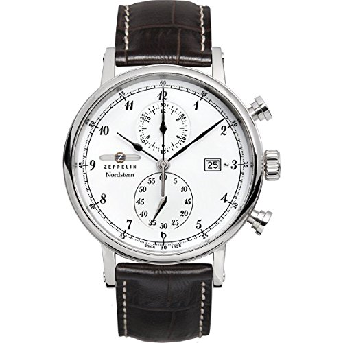 Graf Zeppelin Nordstern Series Two-Eye Swiss Quartz Chronograph 7578-1