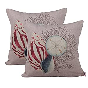 51eucR-BzzL._SS300_ 100+ Coastal Throw Pillows & Beach Throw Pillows