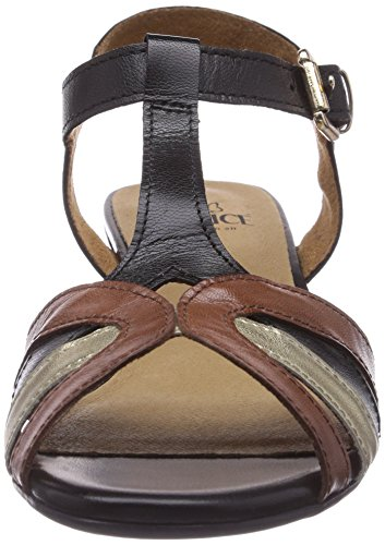 Caprice 28115 - Sandalias de vestir de material sintético para mujer negro - Schwarz (BLACK COMB/098)