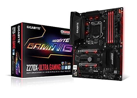 GIGABYTE GA-Z270X-Ultra Gaming LGA1151 Intel 2-Way SLI ATX DDR4 Motherboard (Gigabyte Uefi)