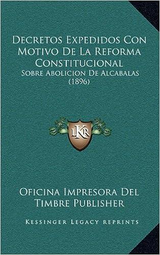 Decretos Expedidos Con Motivo De La Reforma Constitucional ...