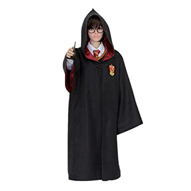 hp1 adult harry potter robe all 4 houses xx2 xxl halloween costume usa medium