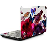 "HP 14"" Butterfly Blossom G4-2149se Designed Laptop Windows 7 Home Premium"