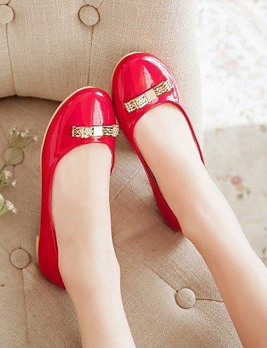 de 5 7 Noche Rojo Blanco eu37 5 zapatos de Negro y 5 talones Cuero uk4 boda Tacón Bajo PDX red carrera mujer Talón oficina cn37 Sintético Fiesta y us6 FdaxWU