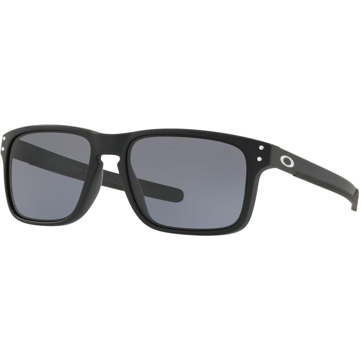 Oakley Holbrook Mix 938401 Gafas de sol, Matte Black, 57 para Hombre