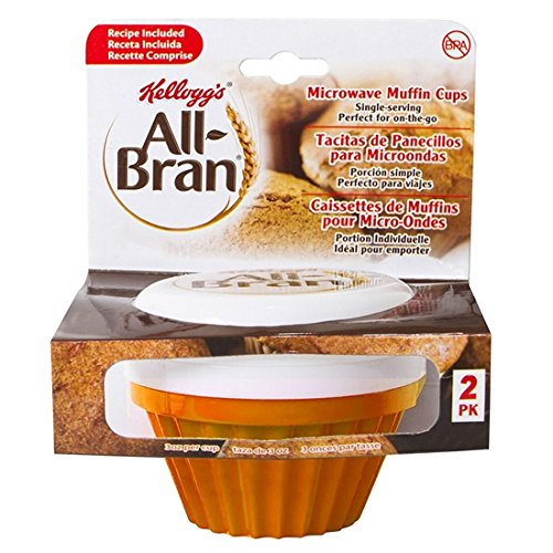 Kellogg's All-Bran Muffin Maker - 2 Pack (Orange)