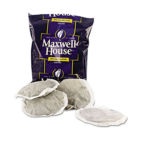Maxwell House 862400 Coffee, Regular Ground, 1 1/5oz Special Delivery Filter Pack, ()