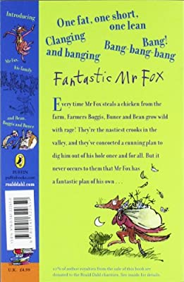 Fantastic Mr Fox Amazon Co Uk Dahl Roald Blake Quentin 2015142410349 Books