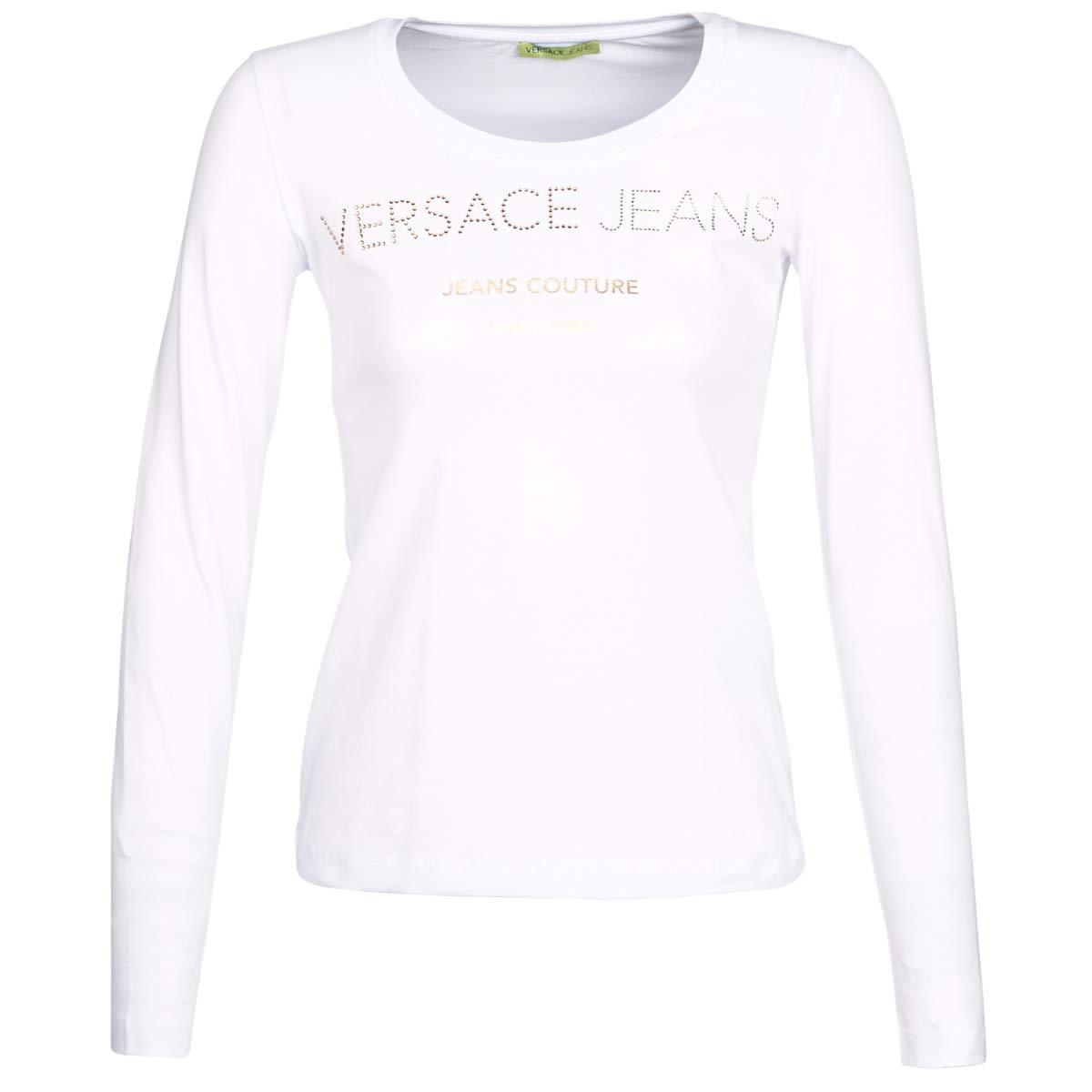 Versace Jeans NOLETO T Shirt & Polo Donne Bianco T Shirts a