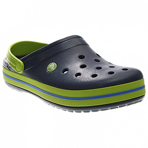 Crocs Crocband Navy/Volt Green Größe EU 43-44