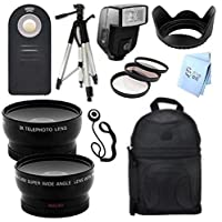 Ultimate PLUS Accessory Package for Nikon D800 and D800e Digital SLR Cameras (52mm)