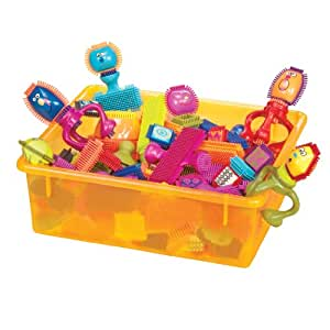 B. Bristle Block Spinaroos Building Toy Blocks for Toddlers (75 pieces)