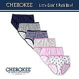 Cherokee Little Girls' 6 Pack Hipster, Pink/Heather Grey Asst Pack, 6