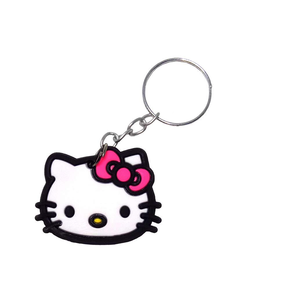 Amazon.com: Olwen Shop Anime Silicone Keychain llaveros Key ...