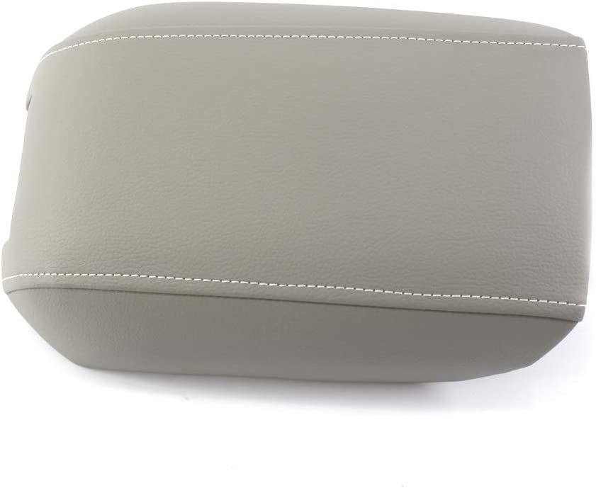 Moligh doll Leather armrest lid Central handrail for 2004-2014 Volvo XC90 Grey
