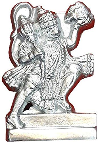 Buy Ever Forever Best Quality Parad (Mercury) Hanuman Idol
