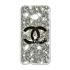 DIY Stylish Printing Chanel Cover Custom Case For HTC One M7 MK2B2346