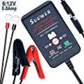 SUUWER 6V and 12V Battery Charger / Car battery Maintainers.