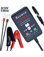 Suuwer 6V and 12V Battery Charger/Car Battery Maintainers.