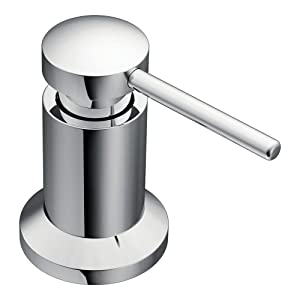 Moen 3942 Kitchen Soap and Lotion Dispenser Chrome