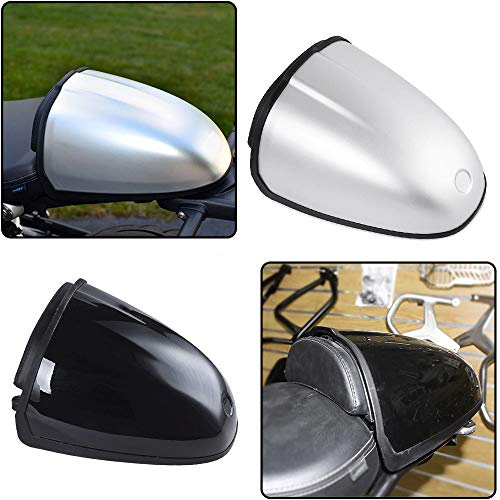 XX eCommerce Motorcycle Motorbike Rear Pillion Seat Cowl Hump Cover Cowl For 2014-2017 B-M-W R NINE T R9T 2015 2016 ()