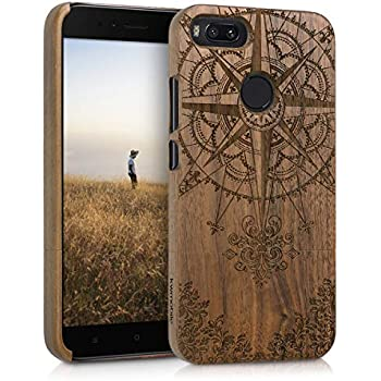Amazon.com: kwmobile Xiaomi Redmi Note 4 / Note 4X Wood Case ...