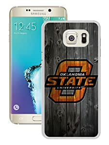 Samsung Galaxy S6 Edge Plus Case ,Newest And Beautiful Designed Case With NCAA Big 12 Conference Big12 Football Oklahoma State Cowboys 10 White Samsung Galaxy S6 Edge+ Screen Case Good Quality Designed Phone Case