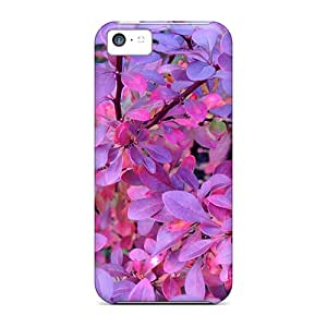 Forever Collectibles Pink And Purple Autumn Hard Snap-on Iphone 5c Cases