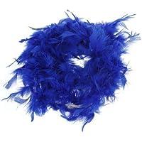 snowwer Royal azul Boa de plumas mullido craft