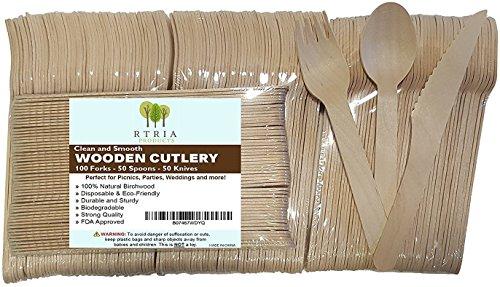 Wood Appetizer Set - 2