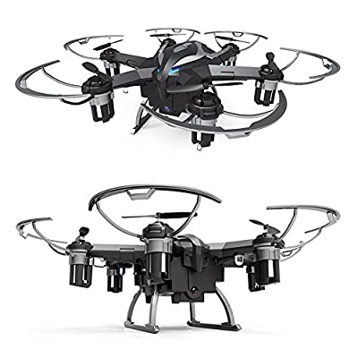 DeXop 2.4Ghz 4CH 6-Axis Gyro RC Quadcopter Drone with HD Camera by DeXop