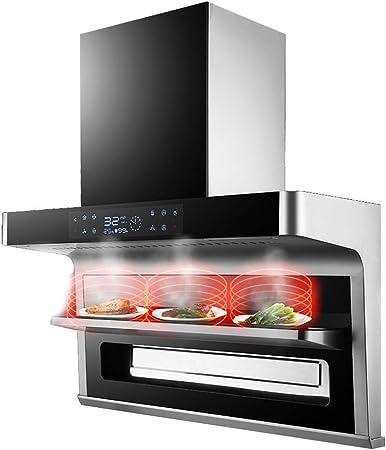 Campana Extractora De Chimenea Campana Extractora De Cocina De 900 Mm Luces LED, Filtro De Grasa Del Ventilador Limpieza Automática, Pantalla Táctil Y Control Del Sensor: Amazon.es: Hogar