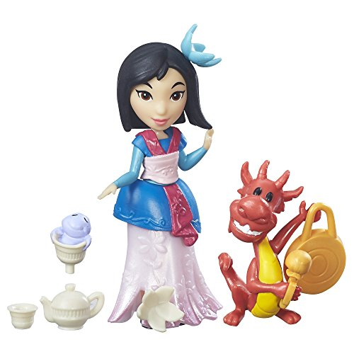 Characters Who Guess Costumes (Disney Princess Little Kingdom Mulan's Tea)