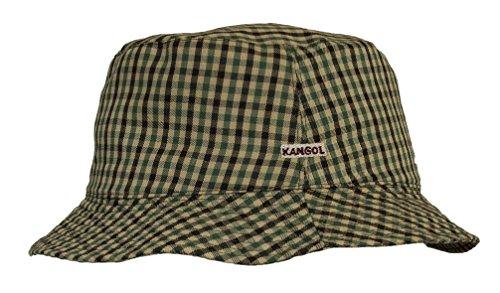 Kangol - Bob - Homme vert Twill Check