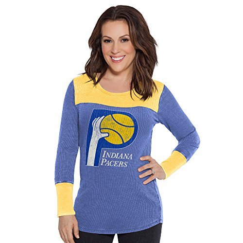 Touch by Alyssa Milano NBA Indiana Pacers Blindside Thermal, X-Large, Royal