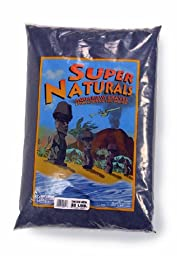Carib Sea ACS00821 Tahitian Moon Sand for Aquarium, 20-Pound, Black