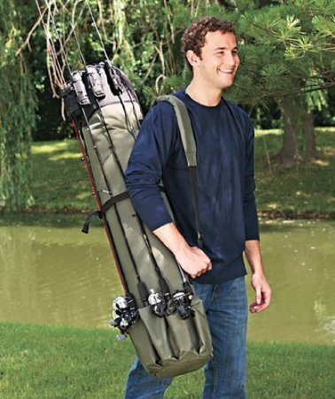 Lumsing Fishing Organizer Thickening Canvas