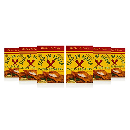 Slap Ya Mama Cajun Fish Fry, 12-Ounce Boxes (Pack of 6) by SLAP YA MAMA (Image #4)