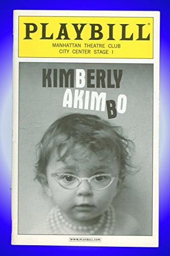 Kimberly Akimbo, Off-Broadway Playbill + Marylouise Burke, Ana Gasteyer, John Gallagher, Jr, Jodie Markell, Jake Weber