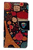 Sharp Icon Fancy Printed Designer Leather Flip Wallet Back Cover Case for Samsung Galaxy Core Prime G360