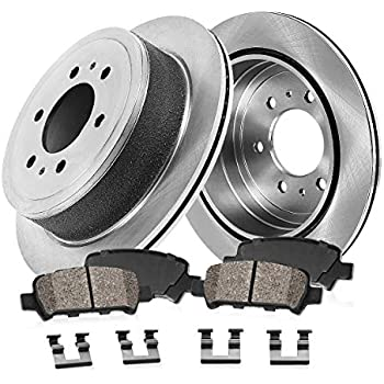 Autospecialty KOE144 1-Click OE Replacement Brake Kit